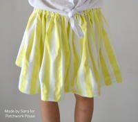 15 Minute Girls' Skirt Pattern
