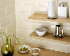 Metro Bevelled Edge Tile Cream (200mmx100mm) - Metro - Wall & Floor Solutions
