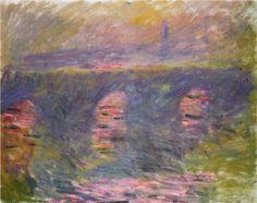 Waterloo Bridge - Claude Monet