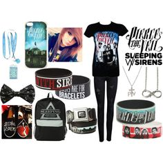 Concert outfit for The World Tour with Pierce The Veil and Sleeping With Sirens