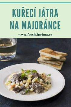 #jatra #maso #recept #rychlavecere #primafresh Toast, Beef, Food, Meal, Essen, Hoods, Ox, Meals, Eten