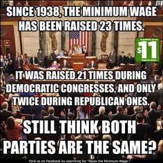 Independents - inconceivable that you still think both parties are the same - plus all the GOP obstruction during President Obama's administration.