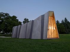 Temporary Chapel for the Deaconesses of St-Loup - A project by LOCALARCHITECTURE