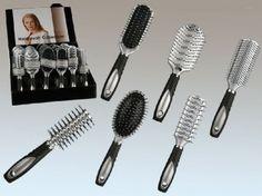 Haarbürsten Set 6 Stück Friseurbedarf