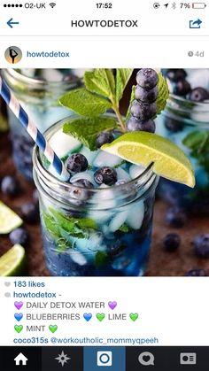 Blueberries like mint