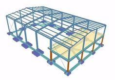 galpão metalico, estrutura metalica, mezanino