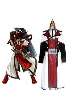 XX Order Sol Badguy Costume in Guilty Gear for Cosplay