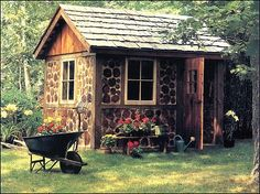 Exterior Small Outdoor Sheds For Sale With Shed Plans Online Also Build A Shed Plans And Storage Shed Building Besides Building Storage Garden Shed Kits: Purchasing Top Products on Walmart Small Outdoor Shed, Outdoor Sheds, Outdoor Storage, Bike Storage, Backyard Storage, Casas Cordwood, Shed Roof Design, Cabin Design, Garden Shed Kits