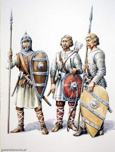 Polish warriors (woje). Timeline - c. 10th-11th centuries: the early Piast Dynasty state