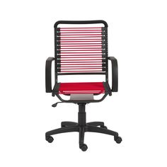 Bungie High Back Office Chair in Red with Graphite Black Frame and Black Base