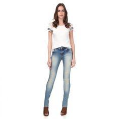 Que Perfeição!!   Calça Jeans Skinny Abertura Barra  COMPRE AQUI!  http://imaginariodamulher.com.br/look/?go=2dpP3Zl  #comprinhas #modafeminina#modafashion  #tendencia #modaonline #moda #instamoda #lookfashion #blogdemoda #imaginariodamulher
