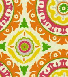 Home Decor Print Fabric-Waverly Solar Flair  Fruit Punch, , hi-res