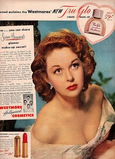 susan hayward 1946 advertisement