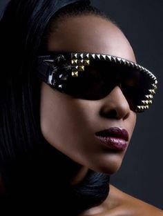 Studded #sunglasses #shades