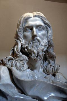 Cristo Salvatore Roma Basilica di San Sebastiano -  Gian Lorenzo BERNINI (Napoli, 7 dicembre 1598 – Roma, 28 novembre 1680)  #TuscanyAgriturismoGiratola