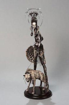 Лучшие авторские куклы - Страсть к дизайну: куклы от сестер Поповых