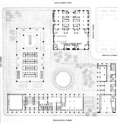 Commerce Court by I.M.Pei. Most amazing work-place I ever had.  commerce-court-plan-lr.jpg 700×729 pixels