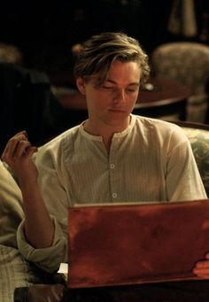 Probably my favorite scene just bc he looks so  hot! Leo DiCaprio ;)
