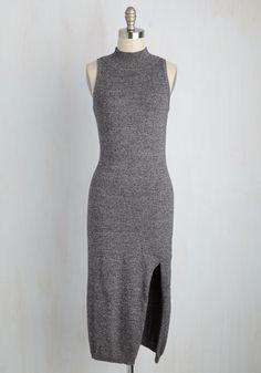 373e059bf0 Portfolio Review Poise Sweater Dress by Mink Pink - Grey