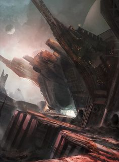 Space pirate hideout by Tryingtofly.deviantart.com on @DeviantArt