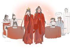 Manhwa, Creepy Pasta Funny, Writing Memes, Demon King, The Grandmaster, Light Novel, Fujoshi, Historical Fiction, Chinese Art