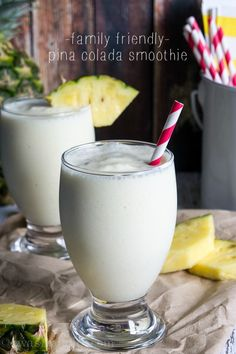 Pina Colada Smoothie - I Wash You Dry