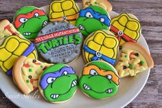 TMNT cookies | Sweet Smiles on Cookie Connection