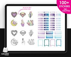 Undated Digital Planner,507 Pages,Working Links,Yearly View,Monthly linked to Weekly and Daily,Planner,Goodnotes,Digital Stickers by myhappyplanners on Etsy Cover Pages, Yearly, Handmade Items, Handmade Gifts, Letter Size, Happy Planner, Planner Stickers, Digital, Planners