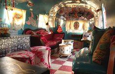 So lebt man sich auf kleinstem Raum kreativ aus...