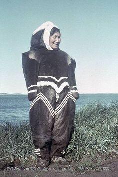 Inuit, kleidung _1 Ben's Portfolio