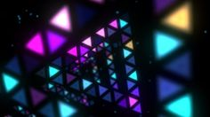 Triangles Disco Tunnel VJ Loop