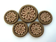 Brown Dorset Buttons, custom made dorset buttons in browns RESERVED for LASTSARA    ** PLEASE DO NOT PURCHASE UNLESS YOU ARE LASTSARA **    If you