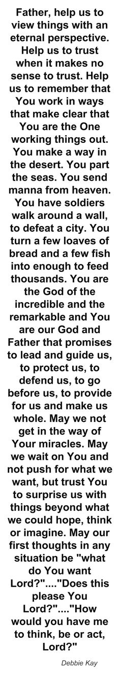 Debbie Kay/Prayer for total submission to God's will Prayer Quotes, Spiritual Quotes, Beautiful Words, Encouragement, Special Prayers, Prayer Times, Life Quotes Love, Inspirational Prayers, Bible Prayers