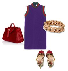"""Untitled #114"" by narrebybn on Polyvore featuring Gucci, Meli Melo, STELLA McCARTNEY, women's clothing, women's fashion, women, female, woman, misses and juniors"
