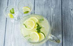 Limonade med sitron og lime