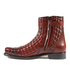 Belvedere Shoes Mens Libero Antique Wine Boots Soft Quilted Leather / Genuine AlligatorHardware: SilverColor: Antique WineOuter Sole: LeatherComes with original box and dustbag. Mens Shoes Boots, Men's Boots, Brown Boots, Combat Boots, Shoe Boots, Belvedere Shoes, Marvin Gaye, Men's Footwear, Man Vs