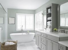 ideas about Small Grey Bathrooms