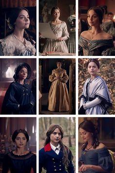 "Victoria's costumes in ""A Clockwork Prince."""