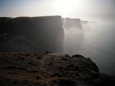 The foggy Cliffs of Moher