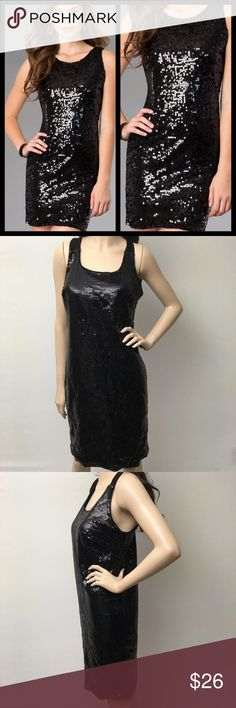 Sexy Black Fully Sequined Party Dress  Gorgeous black fully sequin dress. Some stretch to the fabric. It has a small slit in the bottom. This dress is NWT, purchased at Ross.  Dresses