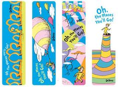 Dr. Seuss Oh, The Places You'll Go! Bookmark Variety 16 Pack $5.36