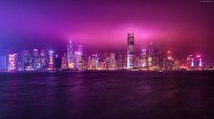 Chiny, Hong Kong, Drapacze chmur