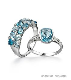arthur kaplan | Designer Collections - Dream In Colour - > Sky Blue | Luxury jewellery and watch retailer with stores located in major shopping centres in South Africa. Luxury Jewelry, Designer Collection, Perfect Wedding, South Africa, Wedding Rings, Sky, Collections, Colour, Engagement Rings