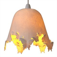 lámpara de fieltro