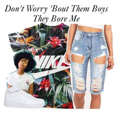 """""""Them Boys~~"""" by be-you-tiful-flower ❤ liked on Polyvore featuring NIKE"""