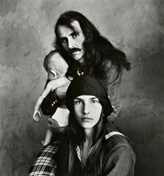 Irving Penn - Hippie Family, San Francisco, 1967 (S.F.Poster artist Alton Kelley and family.)
