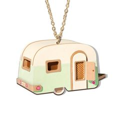 Caravan RETRO NECKLACE by londonhandmade