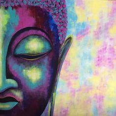 #buddha #buddhapainting #buddhaart #buddhadrawing #multicolor #multicolorbuddha #texturepainting #abstractpainting #abstractbuddha…