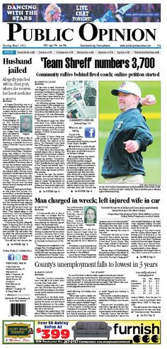 Front page May 1