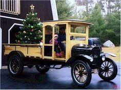 1923 Ford Model TT 1-ton wagon